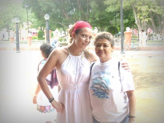 En Valladolid con Trini....mi mamá postiza de Ek Balam!!!