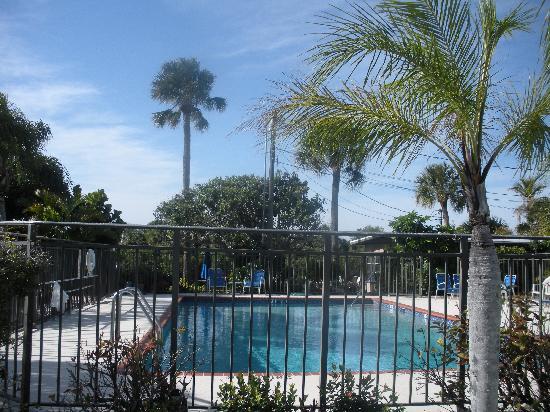 Baron's Landing Motel & Apartments: Poolside