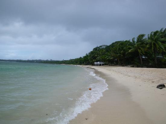 Tailua Beach Fales: The Beach