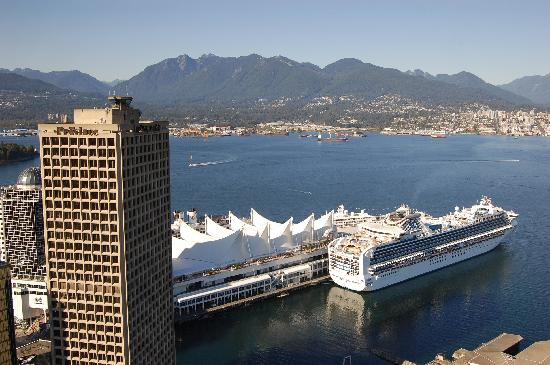Canada Place from Vancouver Lookout