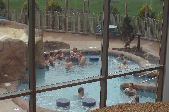 Outdoor Hot Tub Picture Of Kalahari Resorts Conventions Sandusky Tripadvisor