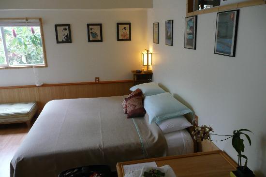 Hilo Bay Hale Bed & Breakfast: Inside Lava Room