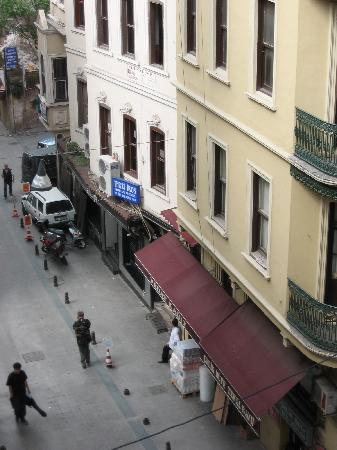Interroyal Hotel: view from the room