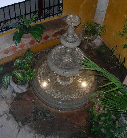 Luz En Yucatan: Calming water feature