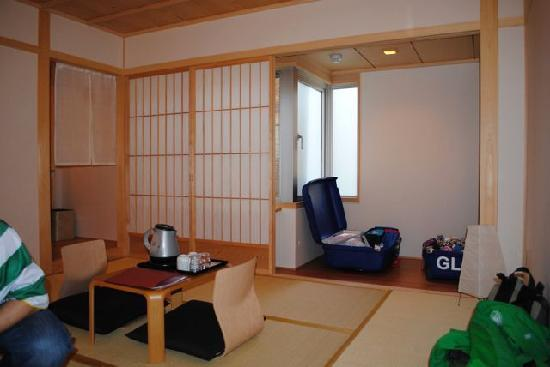 Kyomachiya Ryokan Sakura Honganji: the room