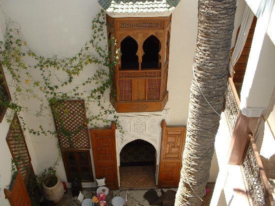 Zamzam Riad: The palm suite balcony