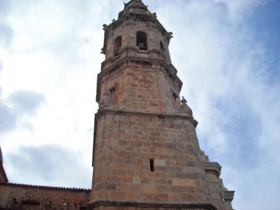 La Vall d'Uixo, Spanien: La Vall D'Uixò, Castellon Province  Tower of the old church.