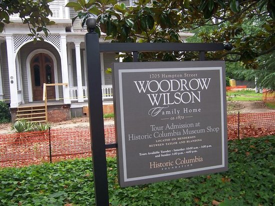 Колумбия, Южная Каролина: Woodrow Wilson's Boyhood Home - Columbia, SC.