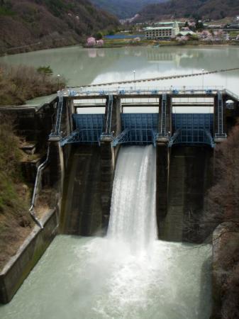 Ina, Japan: Takatoh dam