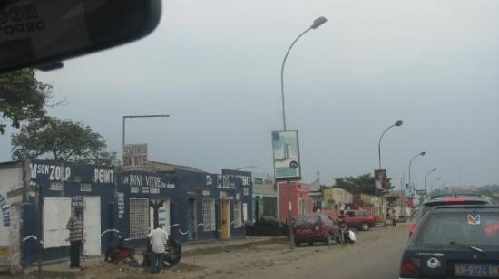 Streets of Kinshasa.