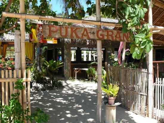 Puka Grande Restaurant: Eingang
