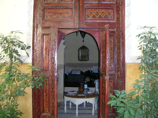 Origin Hotels Riad Magi: Entrance to one of the rooms of central court yard