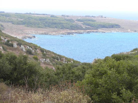 Baia dell'Orte a Otranto