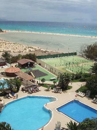 Melia Fuerteventura: View from our room