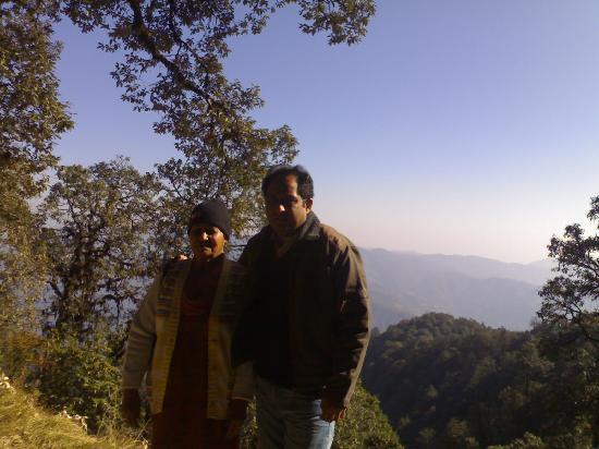 Club Mahindra Munnar: My mother and me