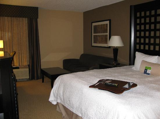 Hampton Inn Plano/North Dallas: View of room
