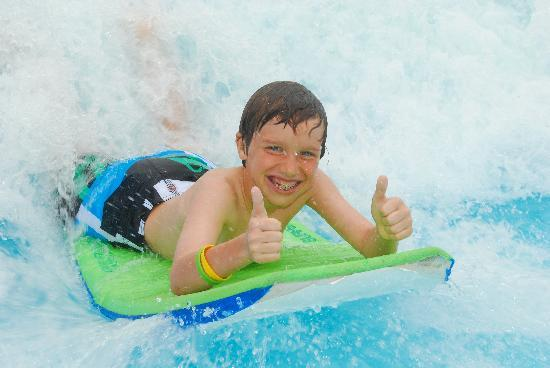 Beaches Turks & Caicos Resort Villages & Spa: 2 thumbs up, water park