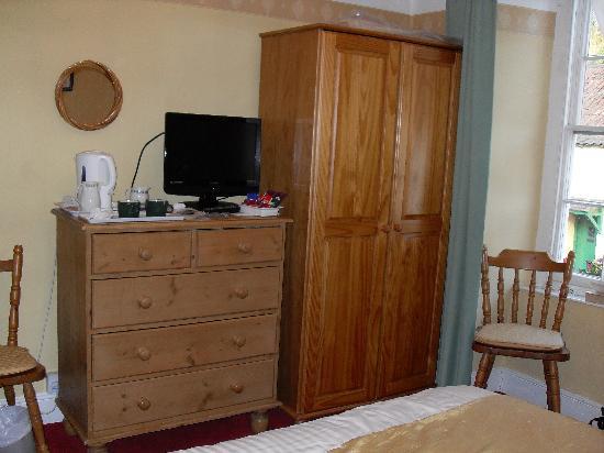 Exmoor House: la chambre