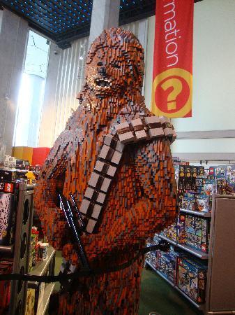 New York City, NY: lego man