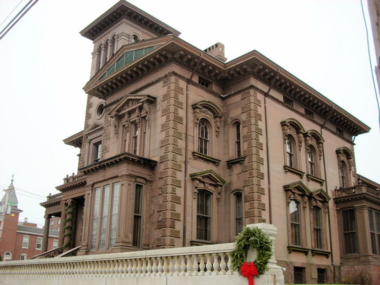 Victoria Mansion: The brownstone mansion stands proud on Danforth Street as a major tourist destination in Portlan