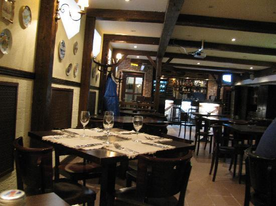 Arbat Nord Hotel: The restaurant and bar