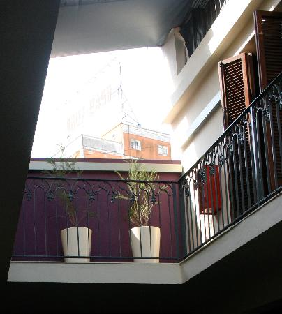 Hotel Babel Second Floor Courtyard Balcony