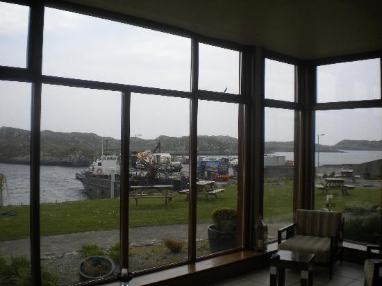 Inishbofin House Hotel: view from reception
