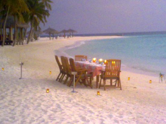 Veligandu Island Resort & Spa: como preparan las cenas