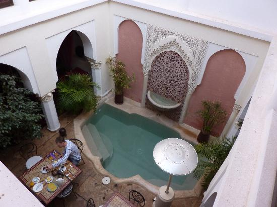 Riad Calista: Courtyard