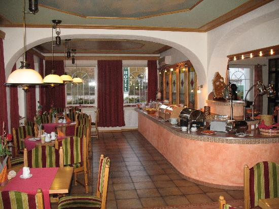 Hotel Pirsch : Breakfast Area