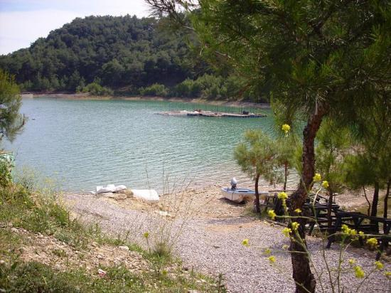 A beautiful sight! The Green Lake in Manavgat