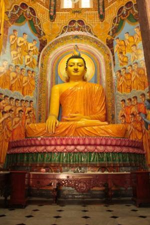 Temple bouddhiste de Gangaramaya : Sri Lanka - Colombo - Gangaramaya Temple
