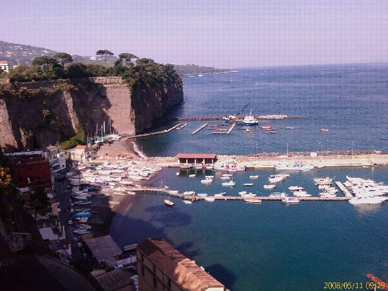 Piano di Sorrento, Italien: Vista dalla mia camera