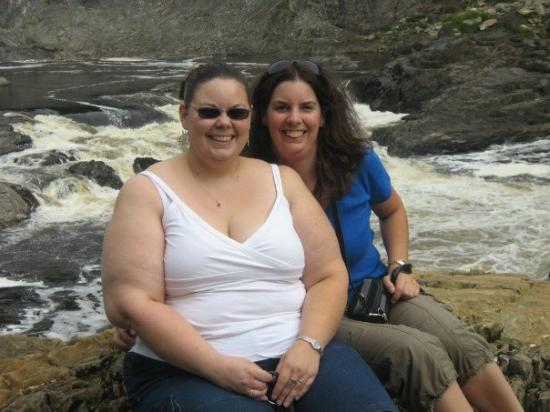 Saint John, Canada: Heather and I Grandfalls NB