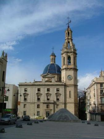 Alcoy, España Plaza de España