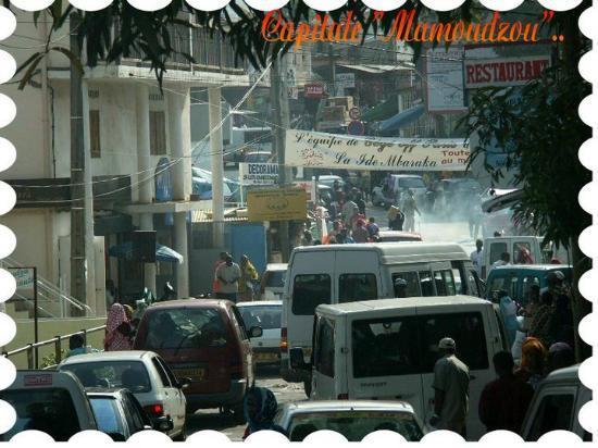 Mamoudzou ( Capitale de Mayotte )