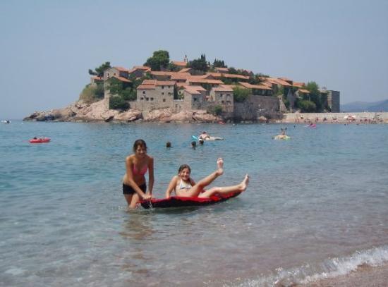 Sommer 2007, Sveti Stefan