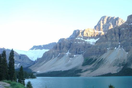 Bow Falls: Bow Glacier