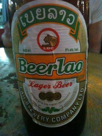 Vientiane, لاوس: biere