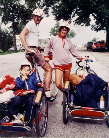 Rockwell City, IA, United States  RAGBRAI 1979