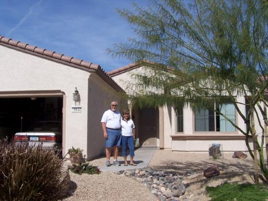 at Ron and Juliann's home in Surprise, AZ 2006