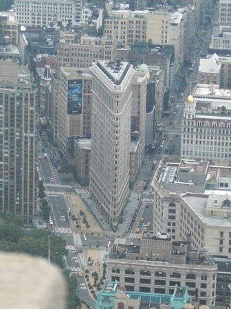 Flatiron Building: Flatiron from atop of the Empire State Building