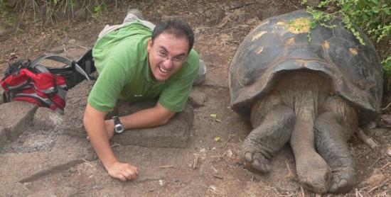 Fernandina, Ecuador: Lets preserve the specie. Darwin Station - Galapagos Aug 2009