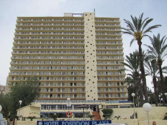 Hotel Poseidon Playa : El hotel