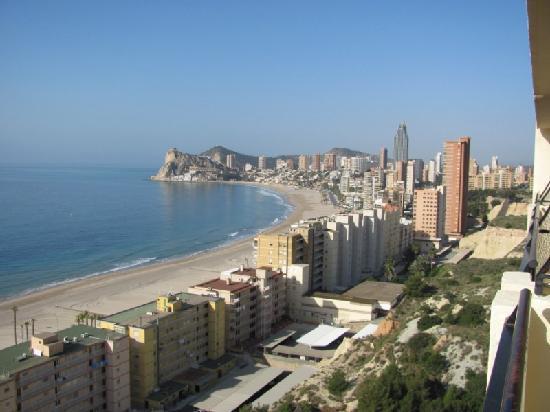 Hotel Poseidon Playa: Vista desde la habitación 1518
