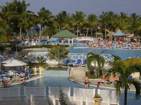 TRYP Cayo Coco: one of the pool areas