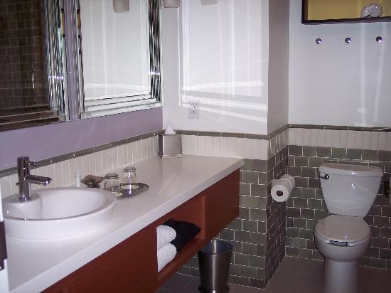 Hotel Indigo Asheville Downtown: Bathroom