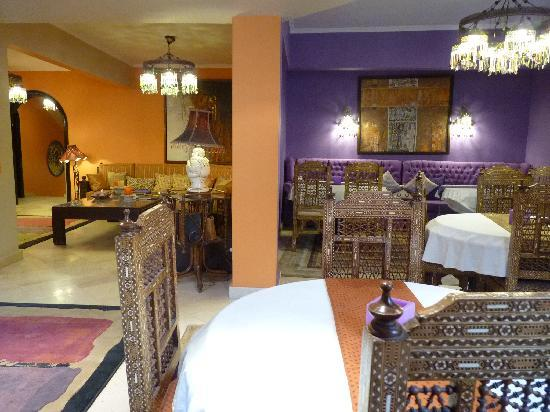 Le Riad Hotel de charme: Dining room / entrance area to dining room