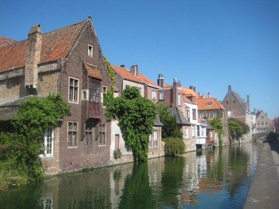 Brügge, Belgien: Boat ride