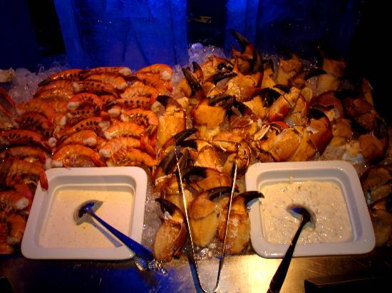 Live Aqua Cancun All Inclusive : seafood buffet